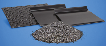 NeoGraf Solutions' GrafGuard® 280-50N Expandable Graphite Flake Additive and in Panel Form