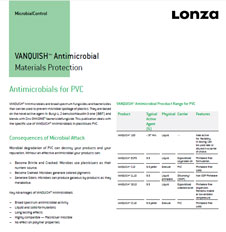 Lonza Vanquish Antimicrobial for PVC