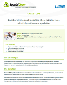 Boost protection and insulation of electrical devices with PU encapsulation