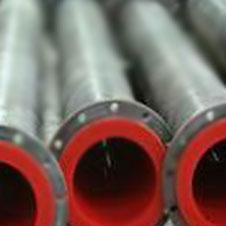 Polyurethane inner cast for oil and mining pipes