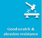 Increased scratch & abrasion resistance for PU formulations