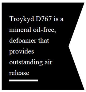 Troy defoamers