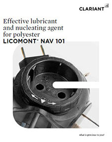 Licomont® NAV 101 Effective lubricant and nucleating agent for polyester