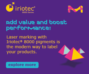 Laser marking with our Iriotec® 8000 pigments