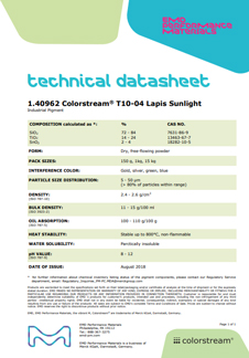 Colorstream® T10-04 Lapis Sunlight